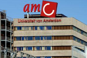 Taxi naar het AMC ziekenhuis in Amsterdam